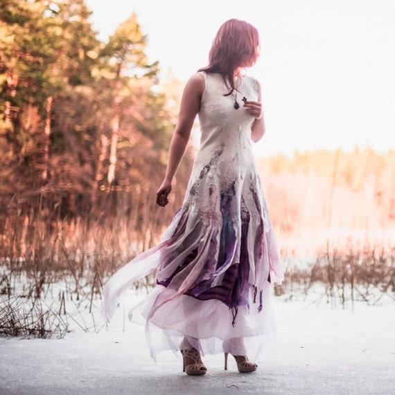 Alternative Wedding Dress S Manchester : Alternative wedding dress bohemian felt bridal