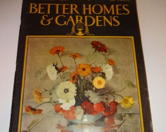 Better Homes and Garden Magazine, Vintage September 1928, Home Decor, Ephemera