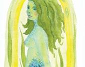 Mermaid and the Kelp Keeper