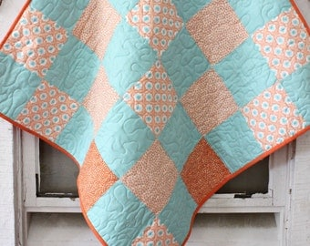 Sunshine and Happiness Baby Quilt Crib Quilt