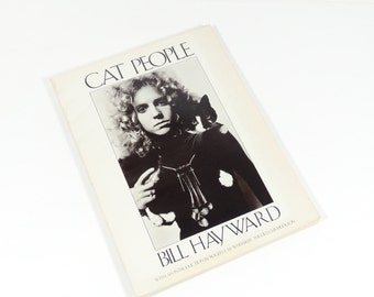 Cat People - Bill Hayward - 1978 First Edition  - Cat Photography Black and White Photography Cat Portraits