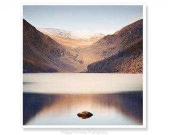 Ireland Photography, Nature Photography, Irish Gift, Lake House Decor, Lake House Wall Art, Fits IKEA RIBBA, Glendalough
