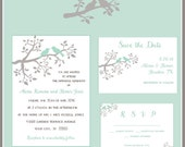 Love Birds Wedding Invitation Collection