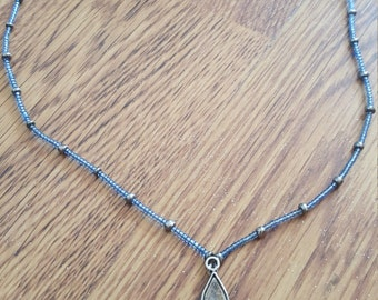 Ganesh blue necklace