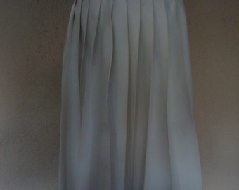Another White Pleated Skirt from the Sixties !