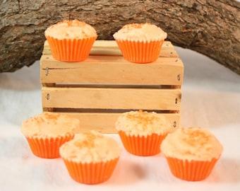 Orange Cupcake Tarts, Cupcake Wax Tarts, Fake Food, Orange Scented