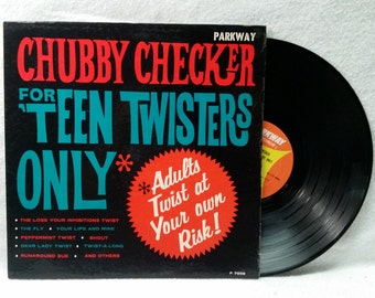 Chubby Checker Record - For Teen Twisters Only - Vinyl LP - 1962 Mono Album