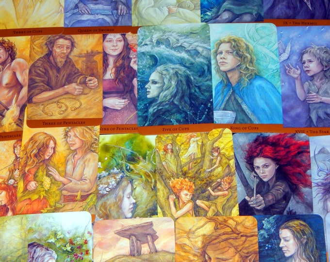 5 CARD Q & A Tarot Card Reading using Tarot of the Hidden Realm