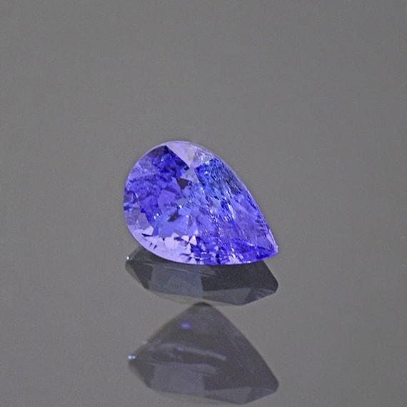 Lavender Tanzanite: Bright Blue Purple Tanzanite Gemstone From Tanzania 0.86 Cts