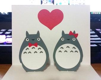 Pop Up Card - Totoro Card - Pop Up Totoro Card