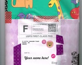 Bargain Happy Mail! A fun snail mail package just for you! Surprise grab bag style letter/package in your mailbox. Birthday or military mail