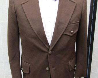 Brown Norfolk Style Sport Coat, Blazer