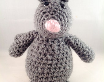 Crochet Amigurumi Mouse Rat Plush Stuffed Animal