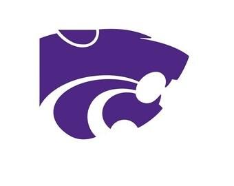 Kansas State Wildcat Vinyl Decal