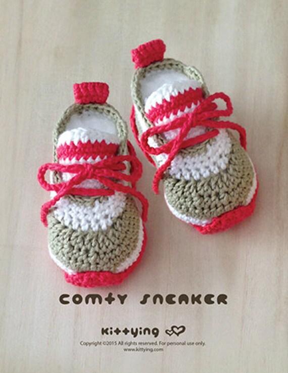 Häkelarbeit-Baby-Muster Comfy Baby-Turnschuhe