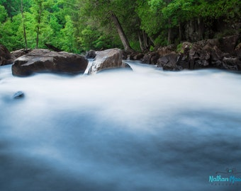 River Photography - Instant Download. Fine Art Photography. Nature Photography. Landscape Photography. Downloadable.