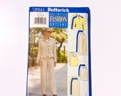 Butterick 5941, Women's Jacket, Top, Skirt, and Pants Pattern, Fast & Easy, Size 14, 16, 18, Uncut Pattern