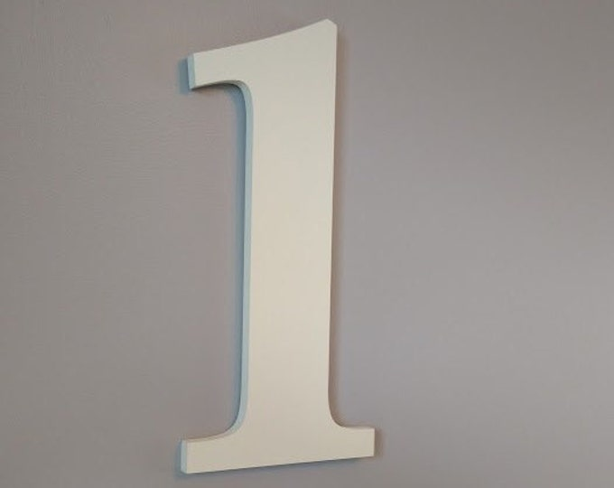 Large Wooden Birthday Numbers, Children's Birthday Photo Prop. Photo shoot wooden numbers