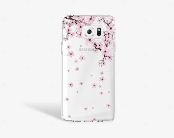 Cherry Blossom Samsung Galaxy S7 Case Tough iPhone 6s Case Floral iPhone 6s Plus Case Floral iPhone Case Sakura Samsung Galaxy Note 5 Clear