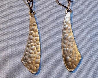 Modernist Handmade Earrings By Jergen Jensen DenmarK