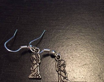 Praying Girl Earrings