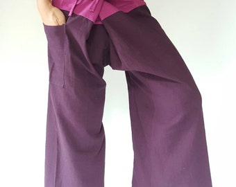 2T0001 Thai fisherman/Yoga are pants Free-size: Will fit men or woman
