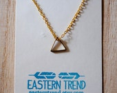 On Sale: Little Triangle Necklace