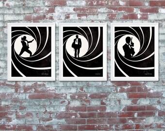 Bond, James Bond posters 8x10