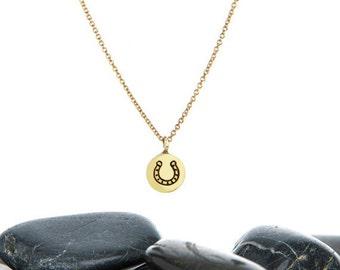 Horseshoe Charm, Horseshoe Jewelry, Horse Shoe, Horseshoe, Gold Horseshoe, Horse Shoe Necklace, Lucky Horseshoe, Horseshoe Pendant, n247m