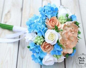 Wedding bouquet replica, Alternative bridal bouquet, Replica, Clay bouquet, Bridesmaid bouquet, Floral bouquet, Rustic wedding