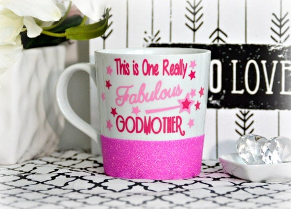 Gift For Godmother Godmother Gift Mothers Day Gift: Godmother Gift God Mother Gift Godmother Mug By