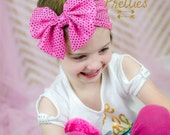 Baby Headband, Baby Headwrap, Messy Bow Headband, Messy Bow HeadWrap, Sequin Bow Headband, Bow Headband, Bow Turban, Pick your color Toddler