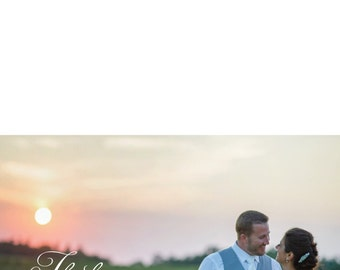 Wedding Thank You Cards PDF ONLY