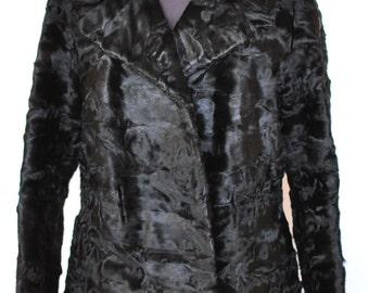 Manteaux d'agneau persan vintage