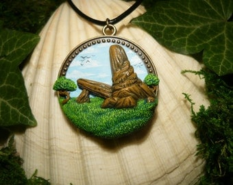 "The Lion King - Priderock II - handsculpted Pendant - ""Made to Order"""
