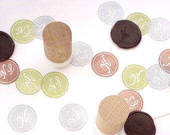 Sealing Wax stamp, Handmade Rubber Stamp, Wedding Invitations