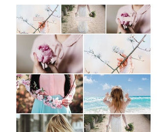 """Responsive Wordpress Theme """"Less Is More"""" // Blog Design Grid Style Template Instant Download Template"""
