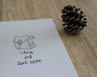 There & Back Again: An Illustrated Zine of NZ Mountains
