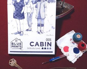 Cabin Top - Paper Pattern