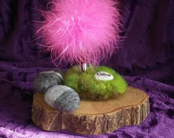 Truffula Tree, Nursery Decor, Fan Art, Pincushion