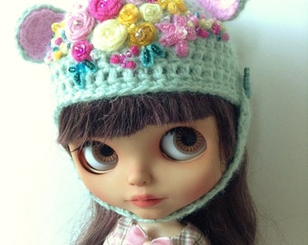 Blythe Hat, Precoius Flowers Collection