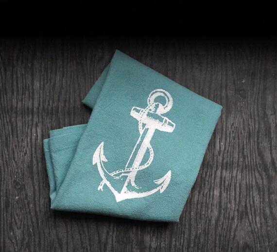 Dish Towel Sale: Sale Anchor Kitchen Dish Towel. Nautical Flour By