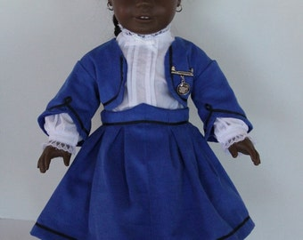 Civil War Doll School Suit and Blouse