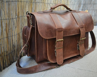 Women bags, leather women bag, messenger bag, leather messenger bag, 20 inches laptop bag