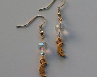 Serenity Sailor Moon Inspired Earrings
