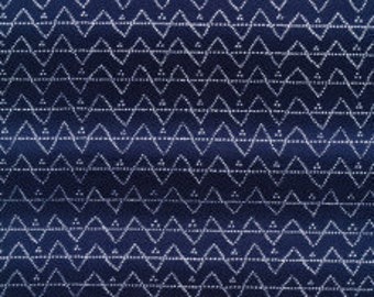 Organic quilting cotton. Blue fabric. Dot fabric. Organic quilt fabric. Sewing fabric. Cloud 9 Moody Blues Dots. Sold by QUARTER METRE