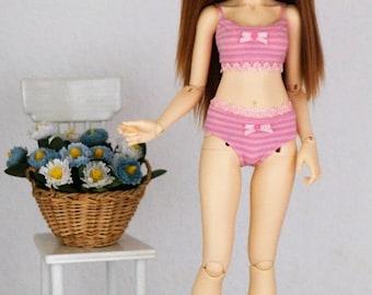 Top+Panties for bjd slim MSD Minifee