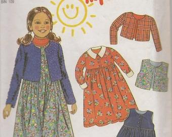 New Look Girl's Dress Pattern