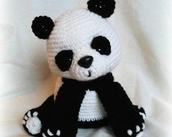 Panda Bear; CROCHET PATTERN; PDF