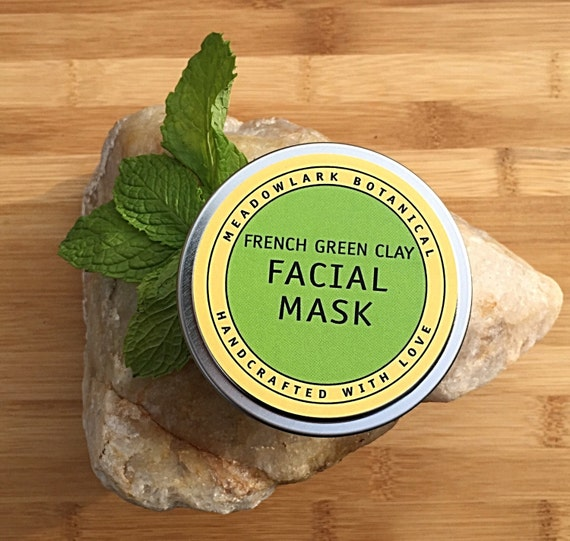 Clay Facial Mask w. Natural French Green by ...